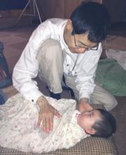 乳児の施術