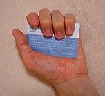 電磁波放電カード