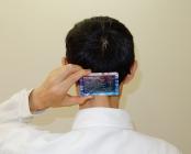 電磁波放電カードの使用例
