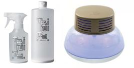 光触媒トリニティーと空気清浄機ナノパージ