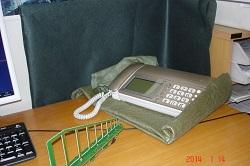コードレス電話機からの電磁波対策